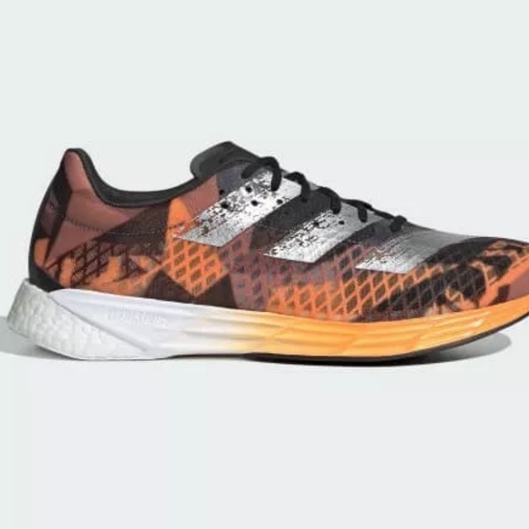 8 Adidas FW9611  Adizero Pro M  Shoes Orange Black